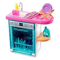 Набор мебели и аксессуаров для дома Barbie Посудомоечная машина FXG33 / FXG35