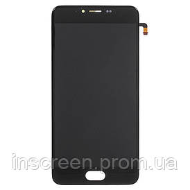 Дисплей Meizu M5 M611 з сенсором (тачскрін) чорний Оригінал Китай
