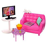 Набор мебели и аксессуаров для дома Barbie  Гостинная    FXG33 / FXG36