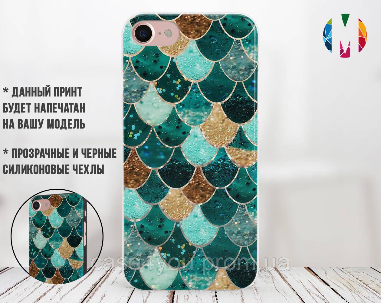 Силиконовый чехол для Apple Iphone 11 Pro Max Цветные плитки (4029-3014)