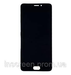 Дисплей Meizu M5 Note M621 з сенсором (тачскрін) чорний