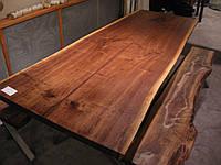 Деревянная кухонная столешница живой край, фото 1