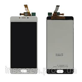 Дисплей Meizu M5c M710H з сенсором (тачскрін) білий