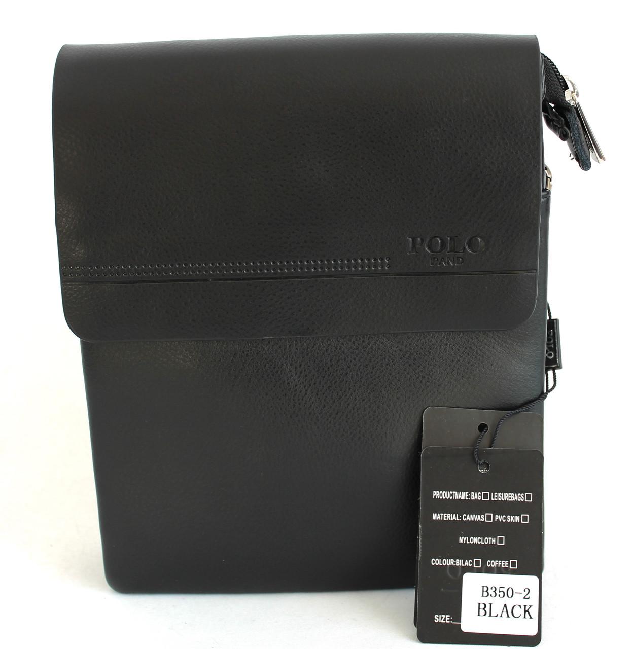 Сумка для мужчин из кожзама Polo B350-4