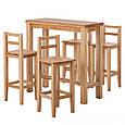 Стул барный деревянный 013, фото 8
