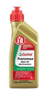 Масло трансмиссионное TRANS DEXIII MULTIV 1л CASTROL TDEX3 M 1L