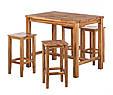 Стілець барний дерев'яний 012, фото 2