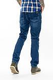 Джинсы мужские утепленные Franco Benussi 16-625 Sofia синие, фото 7