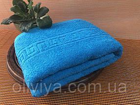 Рушник для масажного кабінету 100х180 (зелене), фото 3