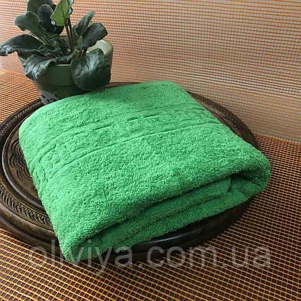 Полотенце для массажного кабинета 100х180 (зеленое), фото 2