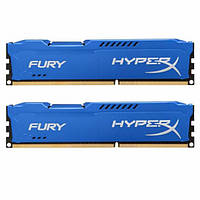 Память Kingston 16 GB (2x8GB) DDR3 1600 MHz HyperX FURY (HX316C10FK2/16), фото 1