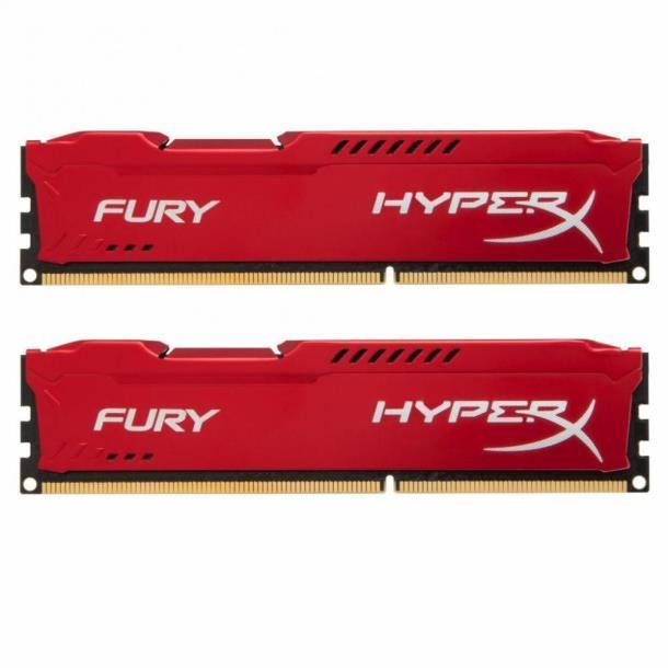 Память Kingston 16 GB (2x8GB) DDR3 1600 MHz HyperX FURY (HX316C10FRK2/16)