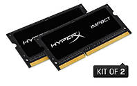 Память Kingston 16Гб (2 х 8Гб) )SO-DIMM DDR3L 2133 MHz HyperX Impact (HX321LS11IB2K2/16)