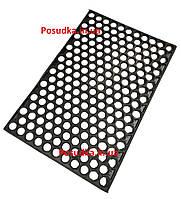 Грязезащитный коврик резиновый ячеистый Соты 40*60 см