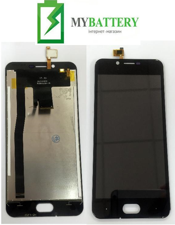Дисплей (LCD) Doogee Shoot 2 с сенсором черный