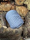 Меринос 100%  цвет серых пятен, фото 4