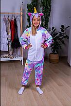 Детский домашний костюм для девочки Юра опт Украина Звездный единорог