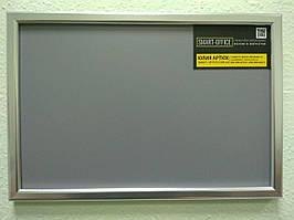 Дошка магнітна грифельна світло-сіра 20х30см.