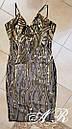 Платье из пайетки узорами длиной миди и вырезом декольте с чашками 79plt587, фото 4