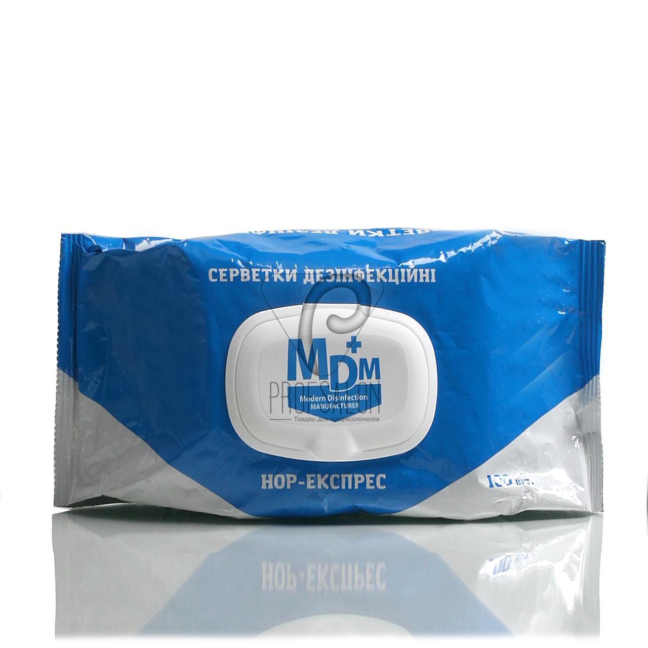НОР-экспресс салфетки дезинфицирующие, 100 шт/уп