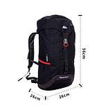Рюкзак Quechua Arpenaz 30 л чорний, фото 6