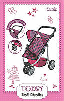 Прогулочная коляска для кукол Catrin 9671 ТМ: TODSY