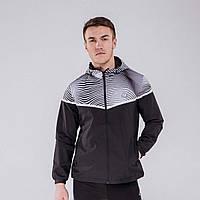 Куртка ветрозащитная мужская Peak Sport F283037-BLA 2XL Черный 6941163039121, КОД: 1345342