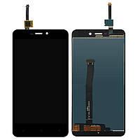 Экран (дисплей,lcd) Xiaomi Redmi 4A с тачскрином (сенсором,touchscreen) черный