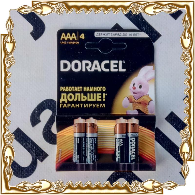 Батарейка Doracel R03 1.5 V на планшеті (40 шт/уп.)
