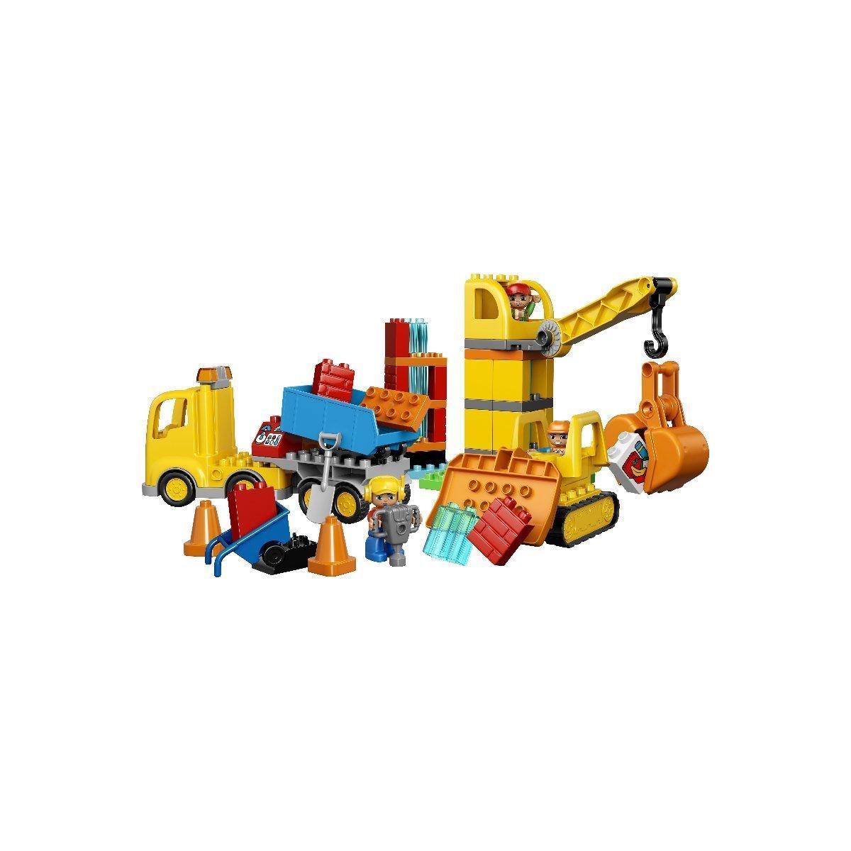 LEGO® DUPLO® Большая строительная площадка 10813 10813 ТМ: LEGO