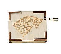 Музыкальная шкатулка Ben Wooden из дерева ручной работы Игры престолов BW2011, КОД: 1332255
