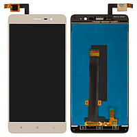 Экран (дисплей,lcd) Xiaomi Redmi Note 3 Pro SE с тачскрином (сенсором,touchscreen) золотой (149мм)