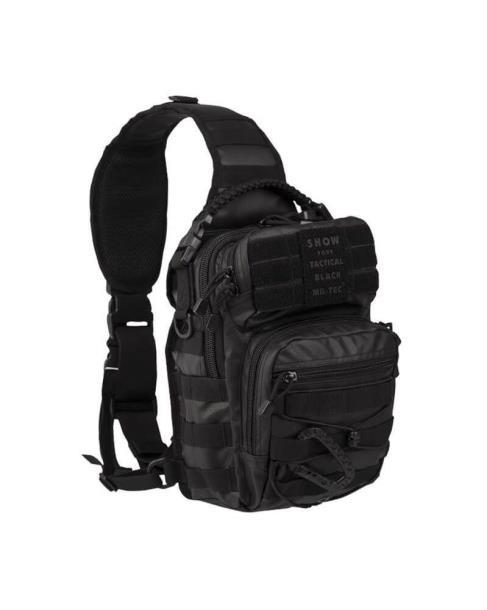 Рюкзак Mil-Tec однолямочный OD ONE STRAP ASSAULT PACK SMALL Код: ? цвет черний  (14059102)