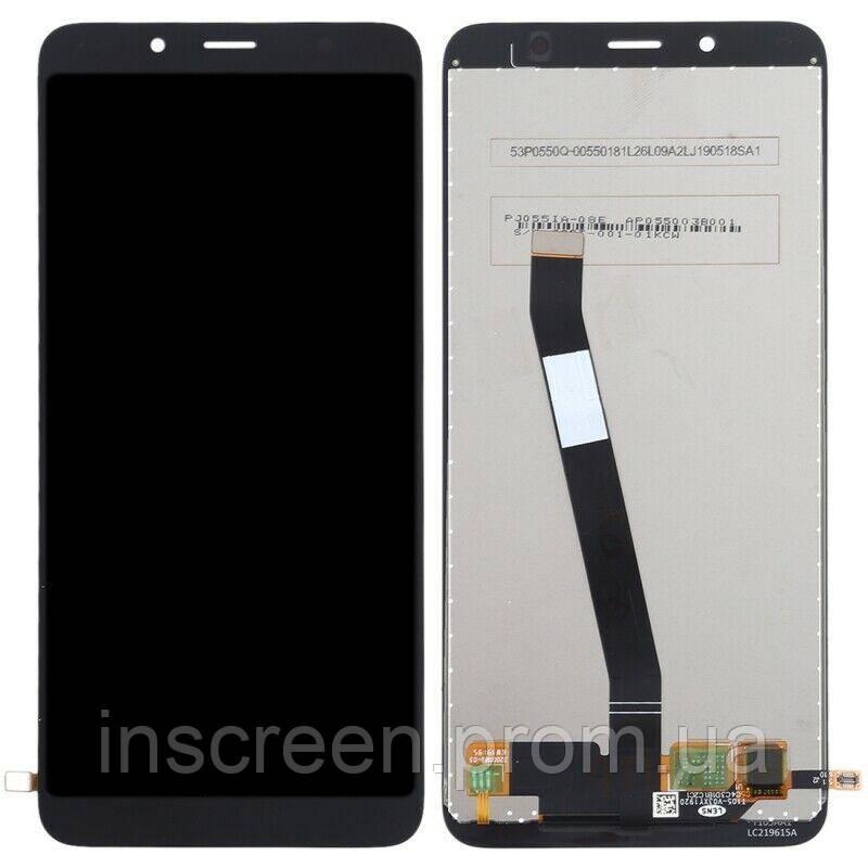 Дисплей Xiaomi Redmi 7A з сенсором (тачскрін) чорний, фото 2