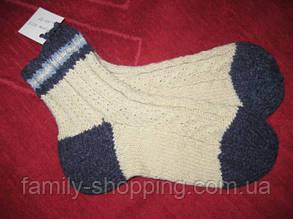 Шкарпетки вовняні ручної роботи р. 36-37