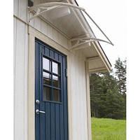 Навес для входных дверей Siker 700-N (700*1000) серый