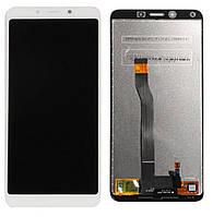 Экран (дисплей,lcd) Xiaomi Redmi 6, Redmi 6A с тачскрином (сенсором,touchscreen) белый