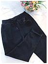 Женские спортивные штаны на флисе с карманами и на резинке 79bil409, фото 4