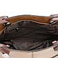 Женская Сумка Тоут из Искусственной Кожи Коричневая (А1115-7), фото 6