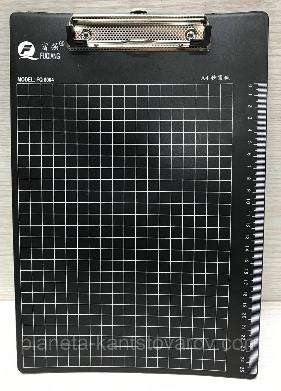 Планшет А4 с зажимом пластиковый 8004