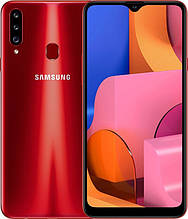 "Смартфон Samsung SM-A207F Galaxy A20S DS Red 6,5"" 3-32Gb 4000мач Type-c, тройная камера"