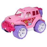 Машинка игрушечная Внедорожник для девочек Технок 4609 розовый