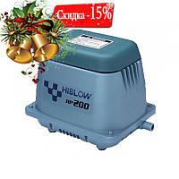 Мембранный компрессор HIBLOW HP-200 для пруда, водоема, септика, узв, озера
