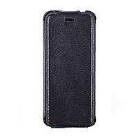 Кожаный флип-кэйс Valenta для телефона Nokia 230 Черный 121111n230, КОД: 319879