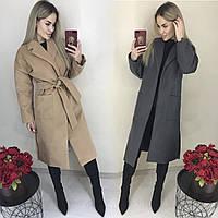 Женское модное кашемировое пальто /разные цвета, 42-46 /универсал/, ft-1039/
