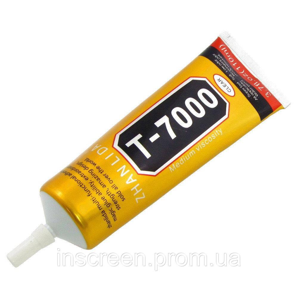 Клей силиконовый T7000, универсальный, черный, 110мл