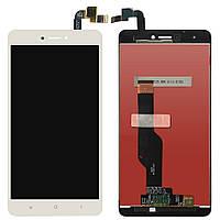 Экран (дисплей,lcd) Xiaomi Redmi Note 4X Snapdragon 625 с тачскрином (сенсором,touchscreen) белый