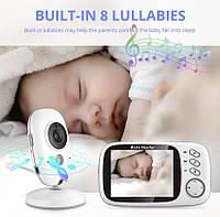 Видеоняня baby monitor vb603 с ночным видением vox режим