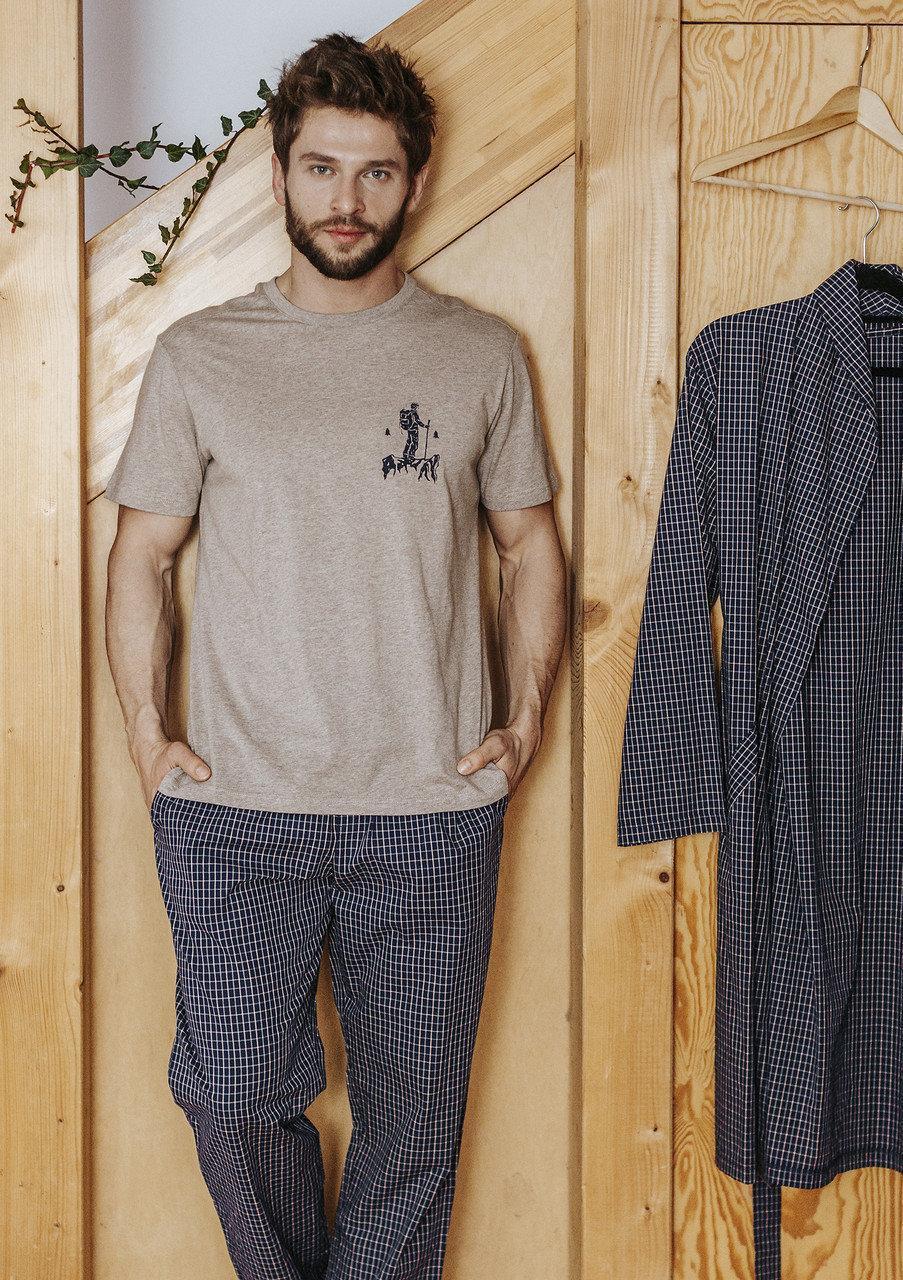 Мужская пижама Key MNS 043. Одежда для дома. XXL