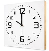 Часы настенные Kauza 0004, белые, фото 1